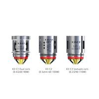 iJoy Captain X3-C1 Dual Coils - 3 Pack, Coil Type: X3-C1 Dual Coils 0.4ohm