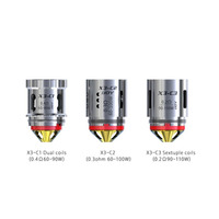 iJoy Captain X3-C1 Dual Coils - 3 Pack
